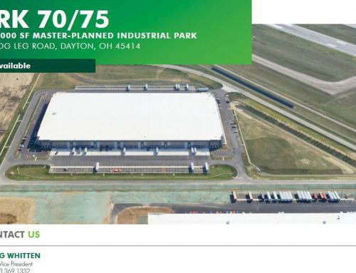 Manufacturer takes 120K square feet of building near airport